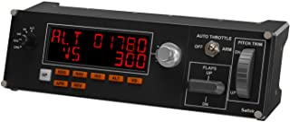 Logitech G 945-000028 Pro Flight Multi Panel Autopilot Controller, Black