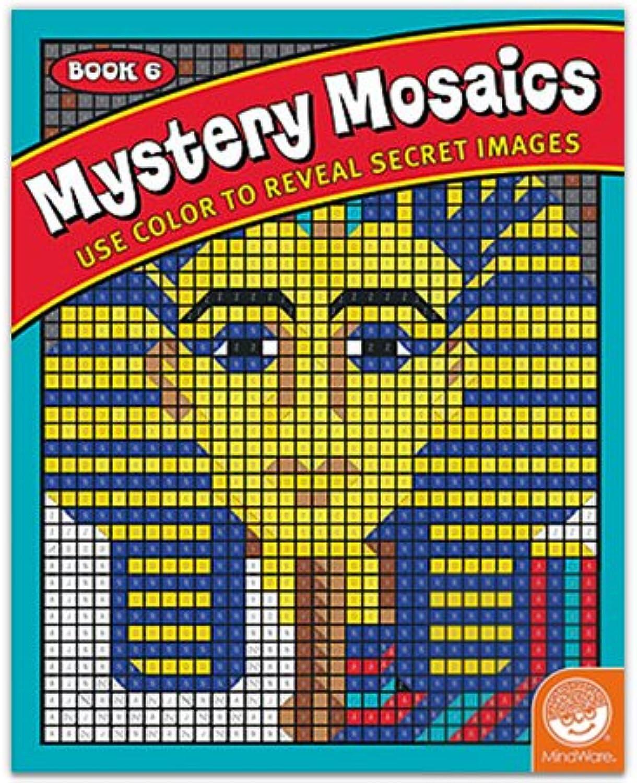 MindWare Mystery Mosaics  Book 6