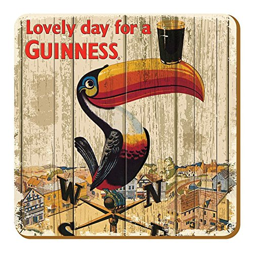 McLaughlin's Irish Shop Guinness - Sottobicchiere con tucano