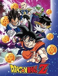Dragon Ball Z GE-57756 Group Galaxy Throw Blanket, 46 x 60