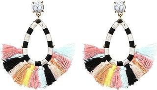 blue bubble earrings