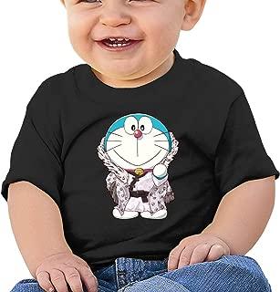Boys Girls Baby Short Sleeve T Shirts Doraemon Toddler Kids Cotton Tees