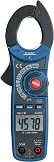 REED Instruments R5020 AC Clamp Meter with Temperature and Non-Contact Voltage Detector, 400A