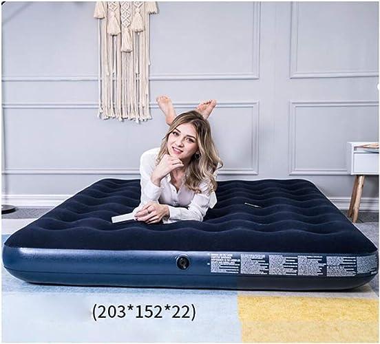 LYQZ Lit portatif de lit de Sofa de Coussin d'air portatif de Camping extérieur à la Maison de Sofa Gonflable de lit Personnes Cinq Doubles Caractéristiques (Taille   L)