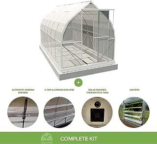 Climapod 7x12 6-MM Twin-wall Polycarbonate Greenhouse, Spirit Complete kit