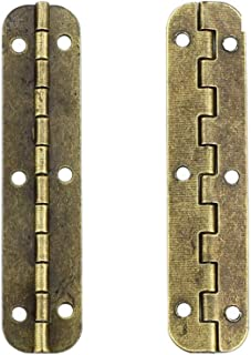 miniature brass piano hinges