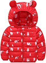 0-3 Months Baby Girl Boy Clothes,Boys Girl Children Winter Coats Jacket Kids Zip Thick Ears Snow Hooded Outwear