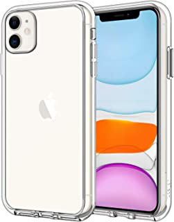JETech Case for Apple iPhone 11 (2019), 6.1-Inch, Shock-Absorption Bumper Cover, Anti-Scratch Clear Back, HD Clear