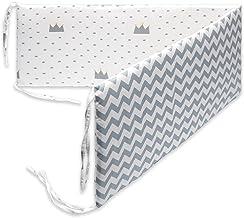 Ububiko Bed Surrounds Voor Baby Cribs Extra Bed Print Patroon Ideaal als Bed Omgeving Voor Een Baby Nest, Boxrand Voor Een...