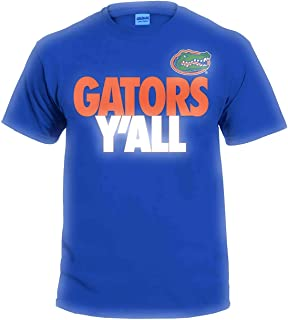 NCAA Y'all T Shirts - Multiple Universities Available - Up to 2X and 3X