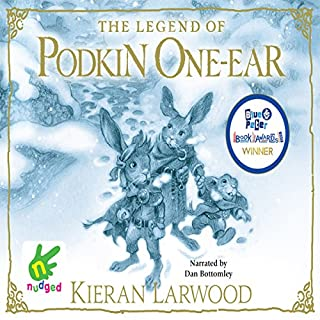 The Five Realms: The Legend of Podkin One-Ear     The Five Realms, Book 1              By:                                                                                                                                 Kieran Larwood                               Narrated by:                                                                                                                                 Dan Bottomley                      Length: 5 hrs and 2 mins     28 ratings     Overall 4.8