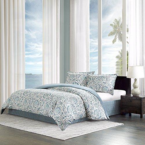 Echo Design Kamala Comforter Set, Full, Blue