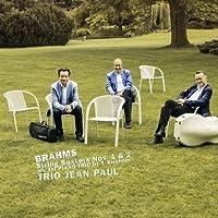 Johannes Brahms: String Sextets, Opp. 18 & 36 by Trio Jean Paul