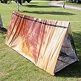 Carpa COJJ Emergencia, Tienda de campaña Vida Supervivencia de la Emergencia del Refugio, el Uso como Survival Tent, refugios de Emergencia, Tubo Carpa, Supervivencia Tarp, Naranja