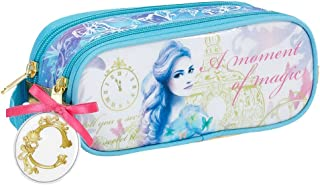 Beautiful Disney Cinderella,Double Zip,Pencil Case,Make-up Bag,Official%100,Stock Clearance
