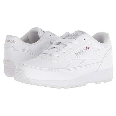 Reebok Kids CL Renaissance (Little Kid/Big Kid) (White/Steel) Kids Shoes