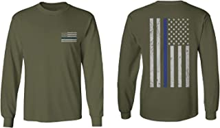 American Flag Thin Blue Line USA Police Support Lives Matter Men's