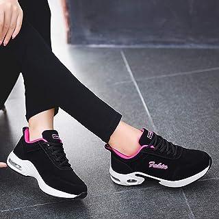 95sCloud Zapatillas deportivas para mujer, para correr, fitness, gimnasio, correr, baloncesto, primavera, verano (rosa, 36)