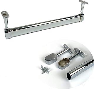 BMF Direct - Juego de barras para colgar armarios ovaladas (