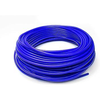 HPS HTSVH8-BLKx10 Black 10 Length High Temperature Silicone Vacuum Tubing Hose 40 Psi Maximum Pressure, 5//16 Id