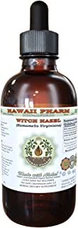Witch Hazel Alcohol-FREE Liquid Extract, Witch Hazel (Hamamelis Virginiana) Bark Glycerite Herbal Supplement 2 oz