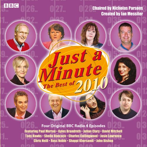 Just a Minute: The Best of 2010 Titelbild