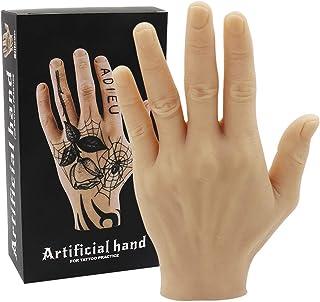 Tattoo Oefenhand - Rayyl Zachte Siliconen Hand Tattoo Oefen Nep Hand Flexibele Siliconen Handen Nep voor Tattoo Beginners ...