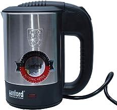 Sanford Stainless Steel Electric Kettle 0.5 Liter - Sf861Ek,Black