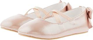 Monsoon Kids Baby Valeria Shimmer Walker Shoes Girls Size 05 Baby Shoe - Pink