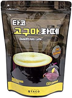 Taco Sweet Potato Latte Powder 870G