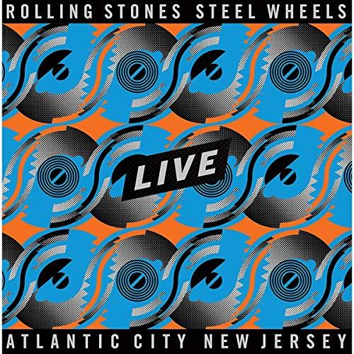 """Steel Wheels Live (Atlantic City 1989, Ltd. Colour 3 LP + 12"""") [Vinyl LP]"""