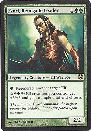 Magic The Gathering Ezuri, Renegade Leader