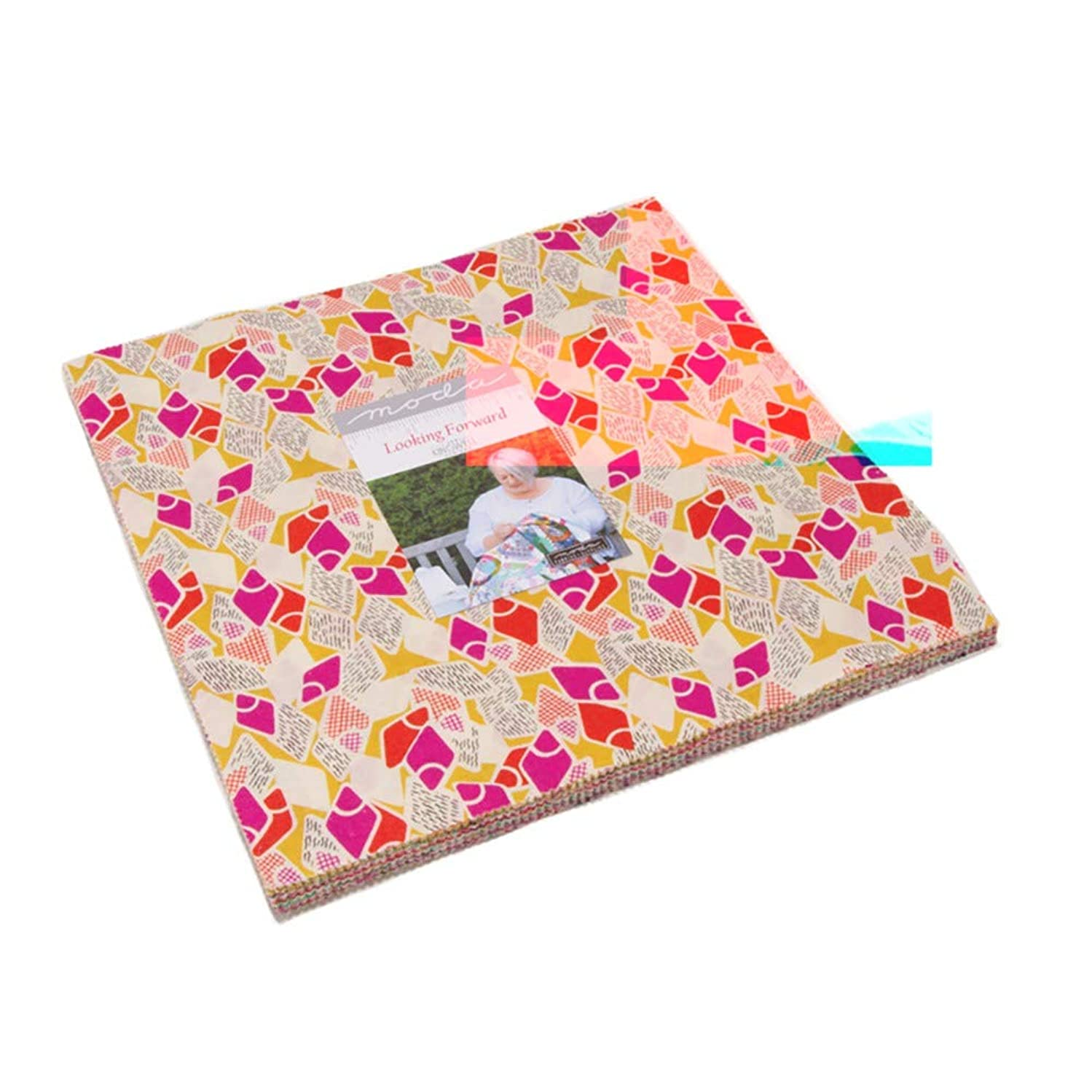 Jen Kingwell Looking Forward Layer Cake 42 10-inch Squares Moda Fabrics 18141LC