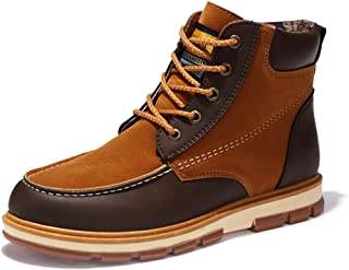 Phil Betty Mens Boots Autumn Winter Round Toe Lace Up Breathable Fashion Casual Shoes
