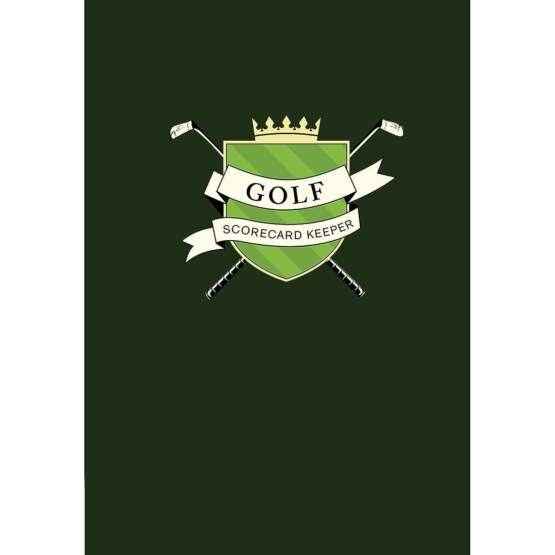 欠点祖先中毒Chronicle Books(クロニクルブックス)ゴルフ スコアカード キーパー(H19.7×W14×D3.4cm)