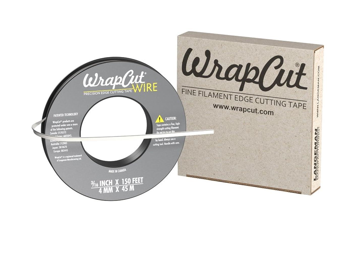 WrapCut Wire, Edge Cutting Tape, 3/16-Inch X 150 Feet, 1 Roll lrpexvhw44630009