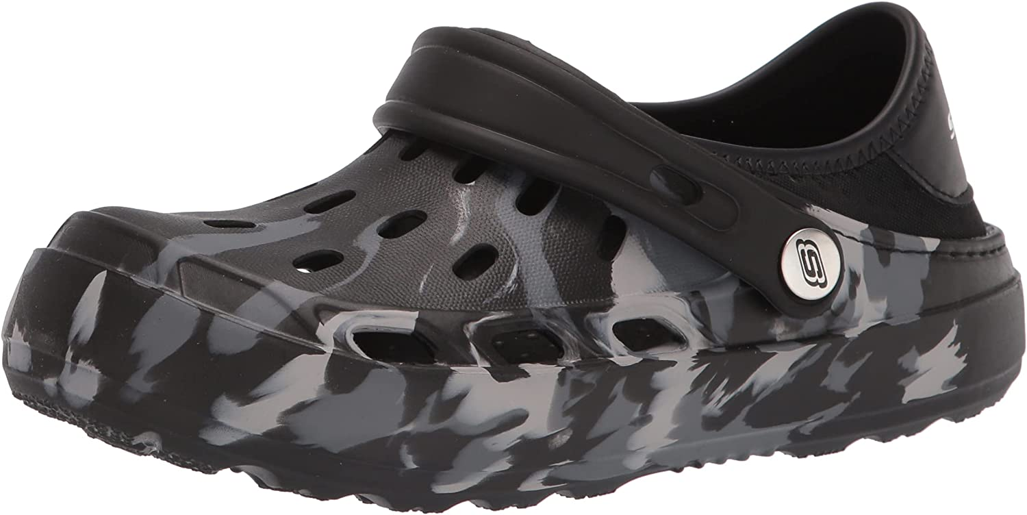 Skechers Max 63% OFF Foamies boys Cali Gear 406452l Marbled Limited time sale - Clog Swifters
