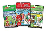 Melissa & Doug On the Go Water Wow! Reusable Water-Reveal Activity Pads, 3-pk, Animals, Connect the Dots, Mazes