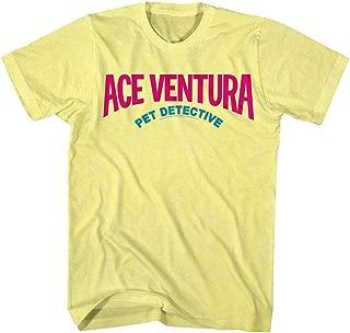 Ace Ventura: Pet Detective Comedy Movie Logo 1990s Colors Adult T-Shirt Tee