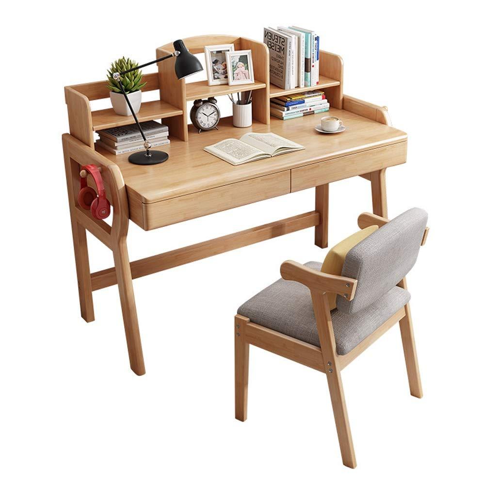 Juego de sillas de Mesa para jardín al Aire Libre Madera for niños Escritorio de Estudio