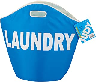 パール金属 ランドリー バッグ 洗濯物 入れ ブルー ジュディ H-3539