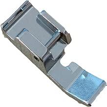 HONEYSEW Snap On 7306-3 Zipper Presser Foot 611406002 For BabyLock, Elna, Kenmore 385 Series