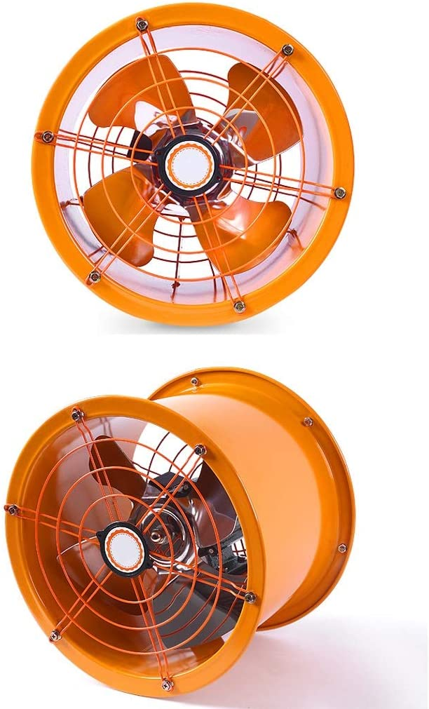 Ventilador de ventilación doméstico Extractor Centrífugo con Doble Escudo For Cocina/Baño/Industrial 10 Pulgadas Gran Viento LITING