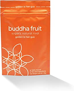 Sponsored Ad - Buddha Fruit | Golden Lo Han Guo (Monk Fruit) extract | - 100% Natural, 0 calories, 0 Carbs, 1 Ingredient |...