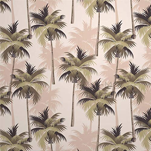 daoyiqi Juego de pegatinas decorativas para azulejos, diseño de hojas verdes tropicales de 30,5 x 30,5 cm, vinilo impermeable para decoración del hogar
