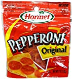 1 - 6oz Resealable Bag of Sliced ORIGINAL PEPPERONI by Hormel Add zest to a wide variety of dishes with our Original Pepperoni. The great flavor and high quality make it the #1 selling brand of pepperoni in America!