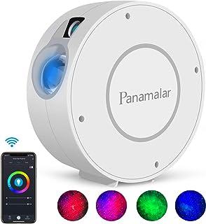 Panamalar Smart Sternenhimmel Projektor, WLAN LED Projektor Galaxy Sternenlicht Kinder Nachtlicht mit Timer/Sprachsteuerun...