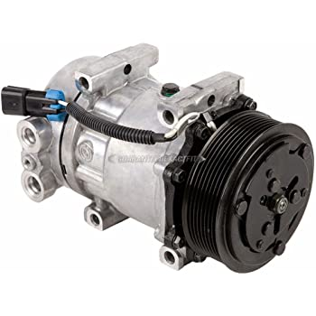 Amazon Com Ac Compressor A C Clutch For Freightliner Replaces Ski4818 N83 30453s Abpn83 304003 Sanden 4417 4485 4075 Buyautoparts 60 02064na New Automotive