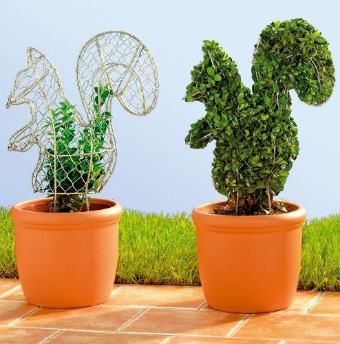 WENKO Buchsbaumformer Tiere, 2er Set