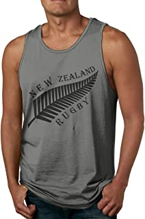 Newzealand Rugby ニュージーランド とりげ タンクトップ メンズ Tシャツ ノースリーブ スポーツ トレーニングウェア インナーシャツ 吸汗 速乾 大きなサイズ